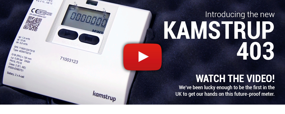 The new Kamstrup 403 from MWA Technology