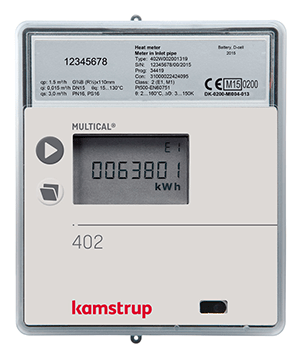 Kamstrup multical 402 heat meters available at MWA Technology