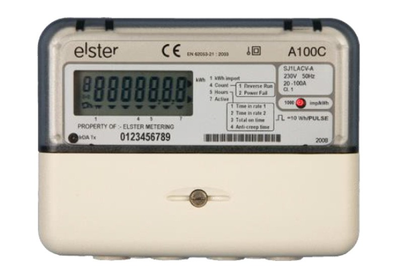 elster single phase kwh meter