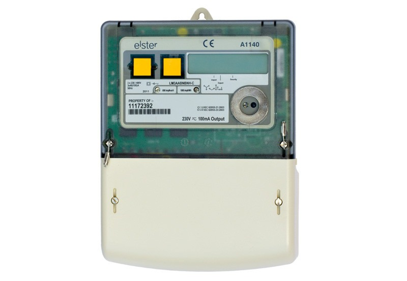 3 Phase Power Meter : A three phase ct meter from mwa technology