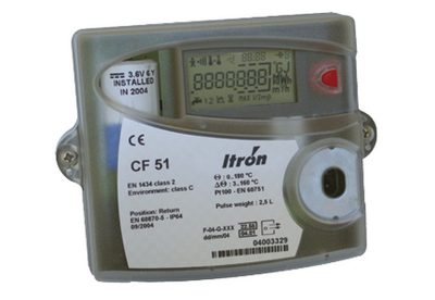 ITRON CF51 Heat Meter Calculator available at MWA Technology