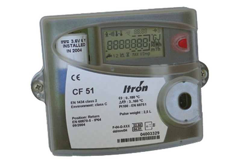 Electric Meter Technology : Cf heat integrator