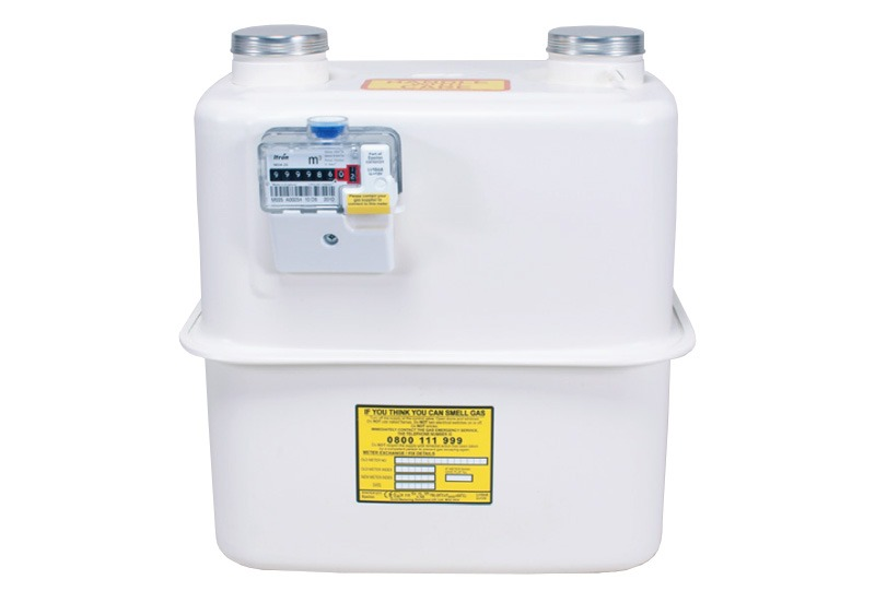 Itron Electric Meters : Itron mda commercial gas meter