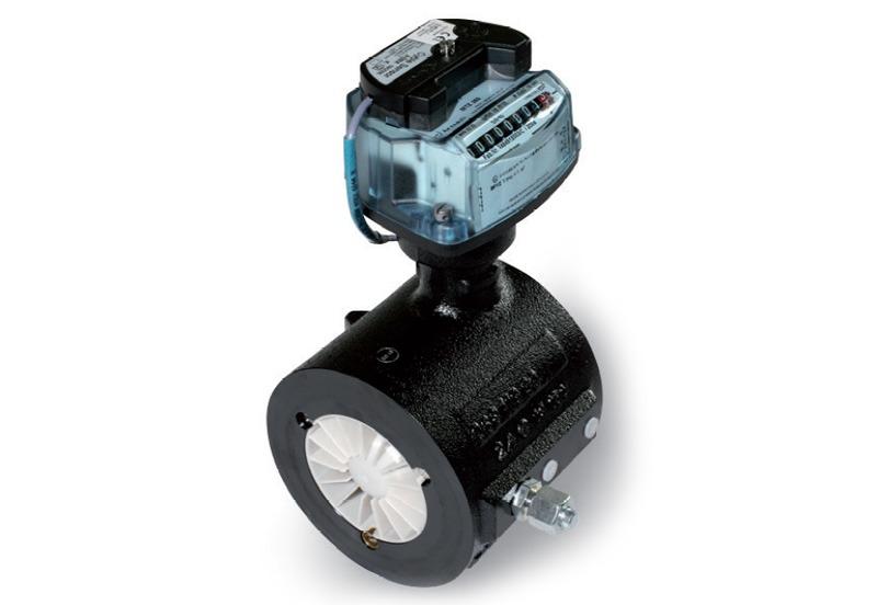 Inline Gas Flow Meter : Itron mz turbine inline gas meters