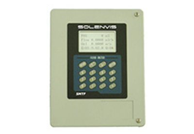 Solenvis SL3 fixed clamp on flowmeter available at MWA Technology