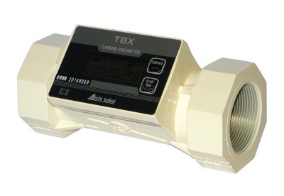 Aichi TBX low pressure drop turbine gas meters available at MWA Technology