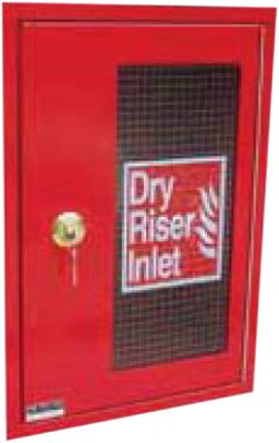 Dry riser cabinet available at MWA Technology