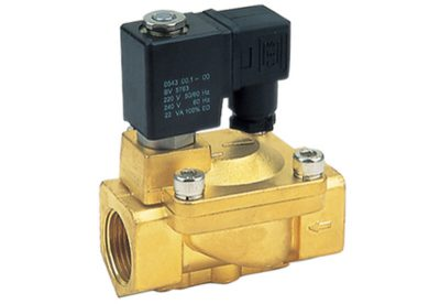 Normally open servo assisted solenoid valves available at MWA Technology