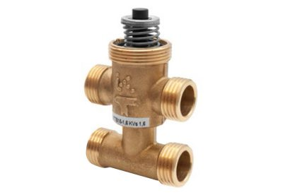 Regin 3 way (+bypass) Chilled Beam Valves available at MWA Technology