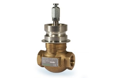 Regin 2-way brass control valve available at MWA Technology
