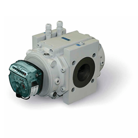 Itron Delta MRA Rotary Gas Meter available at MWA Technology
