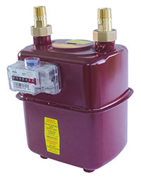Itron National Grid approved Diaphragm Gas Meter available at MWA Technology