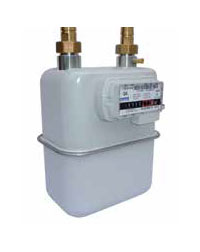 Metrix European Diaphragm Gas Meter available at MWA Technology