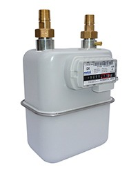 Metrix diaphragm gas meter available at MWA Technology