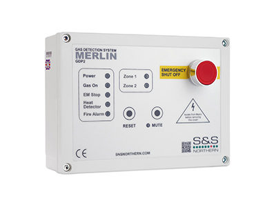 Merlin GDP2 Gas Safety Detection System available at MWA Technology