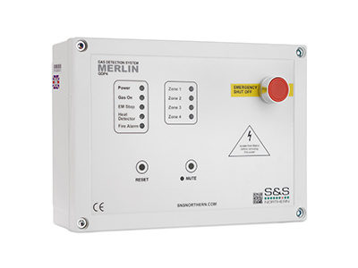 Merlin GDP4 Gas Safety Detection System available at MWA Technology
