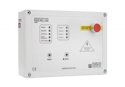 Merlin GDP4 Gas Safety System available at MWA Technology