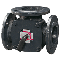 ESBE 3F Mixing Valve for Series 90 actuator available at MWA Technology