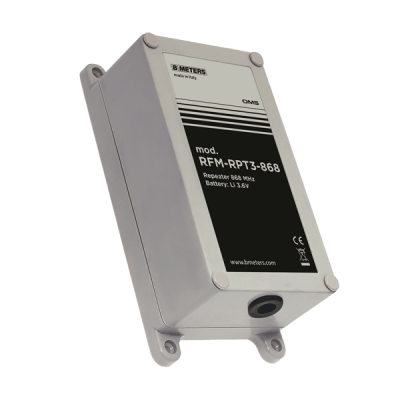 B METERS RFM-RPT3 Wireless MBus Signal Repeater available at MWA Technology