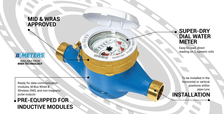 B Meters GMDM-I Water Meter