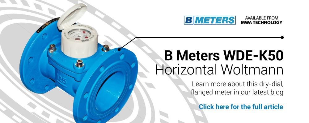 B Meters WDE-K50 Horizontal Woltmann