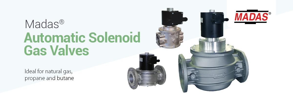 MADAS Gas Solenoid Valves