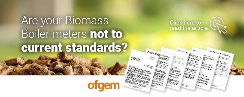 Biomass Boiler Meters