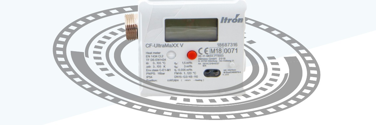 Itron CF UltraMaxx V Thermal Meter