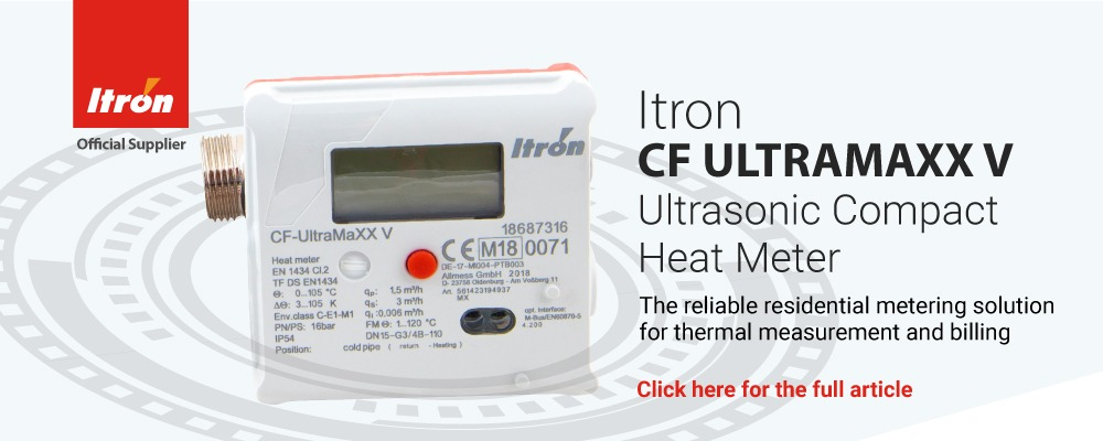 Itron CF UltraMaxx V Ultrasonic Heat Meter