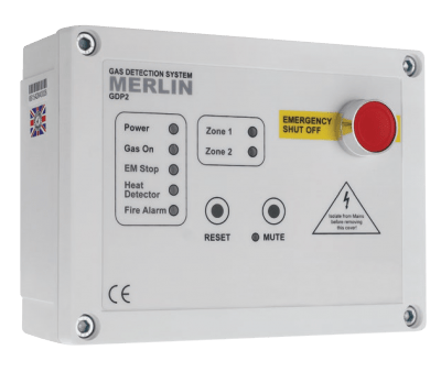 Merlin GDP2 Gas Detection Panels available at MWA Technology