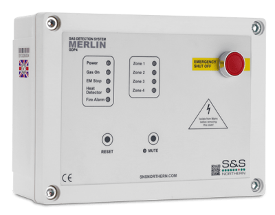 Landon Kingsway LKGDP4 Gas Detector Panel available at MWA Technology