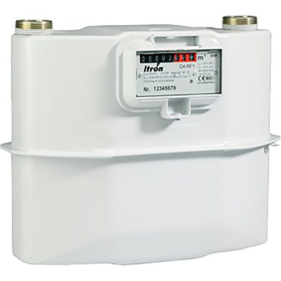 Itron RF1 Residential Diaphragm Gas Meter available at MWA Technology