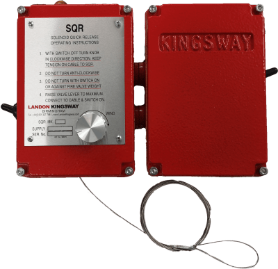 Landon Kingsway Solenoid Quick Release MKII available at MWA Technology